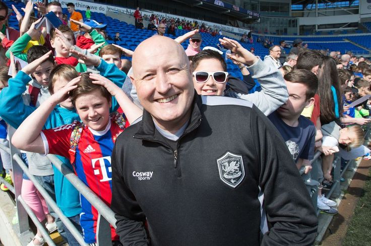 Cardiff City hold open training session as fans meet the players days after dire Bolton Wanderers defeat