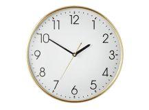 Disley Wall Clock, Polished Brass