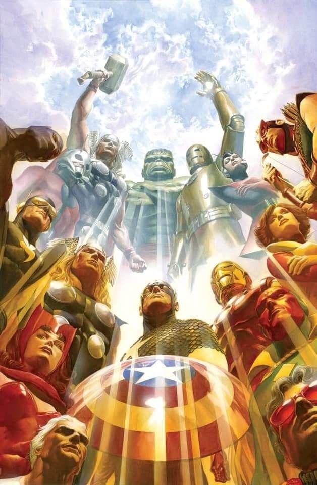 Pin By Jerry Piotrowski On Avengers Marvel Comics Art Alex Ross