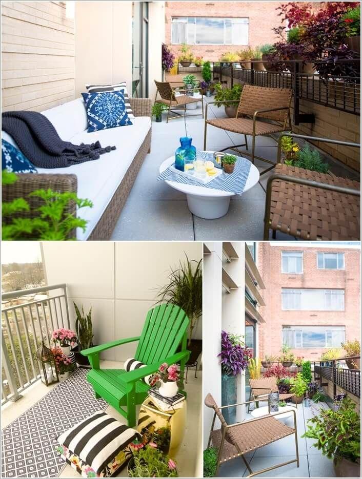 202 best dům a bydlení - balkón images on pinterest | balcony ... - Condo Patio Garden Ideas