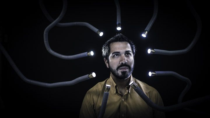 Data access lights up hidden corners of the human brain -Jose Barrios is a man in the midst of evolution