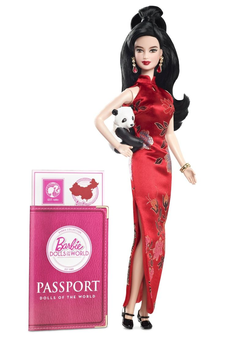 Barbie Collector Dolls Around The World China Doll