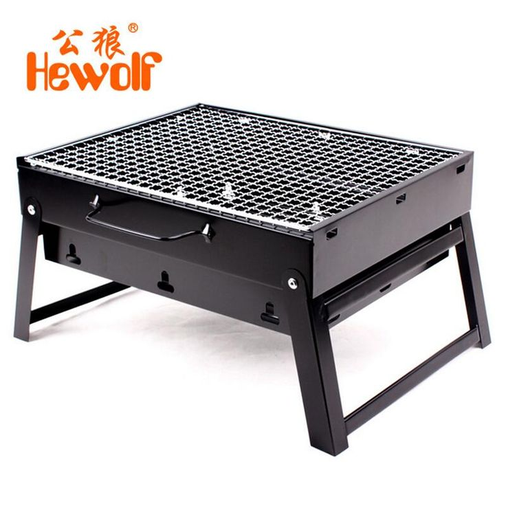 ==> [Free Shipping] Buy Best Camping burn oven Folding BBQ grill outdoor home portable stove BBQ charcoal barbecue grill box Online with LOWEST Price | 32744874754