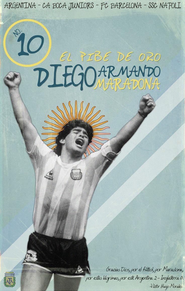 Diego Armando Maradona #soccer