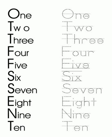 printable dotted numbers to trace printable number writing dot to dots oneworksheet for kids. Black Bedroom Furniture Sets. Home Design Ideas