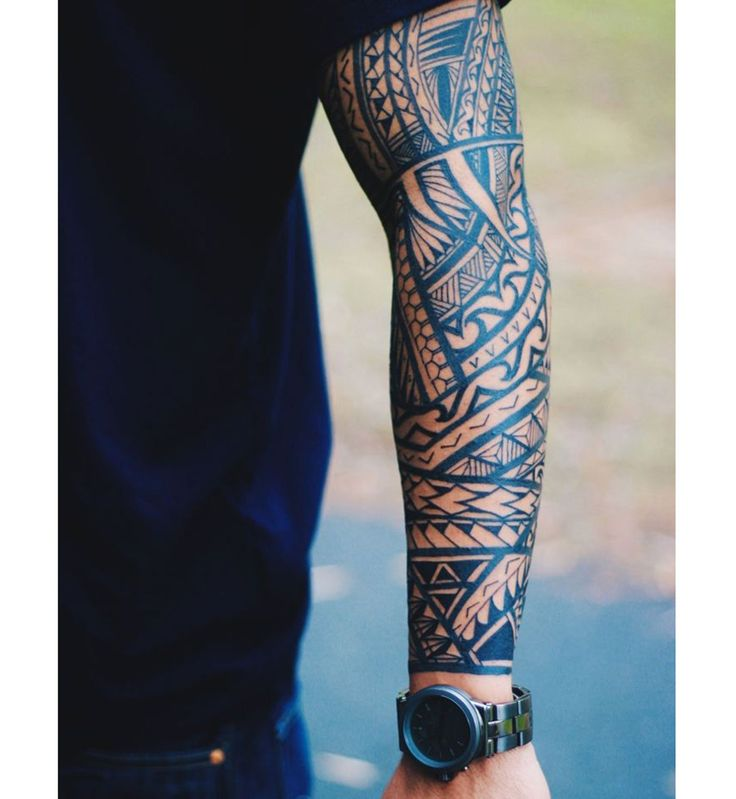 Tatouage sexy pour homme : le tatouage polynésien