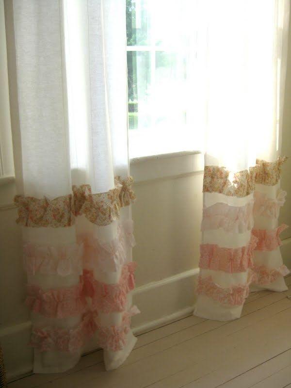Как удлинить шторы