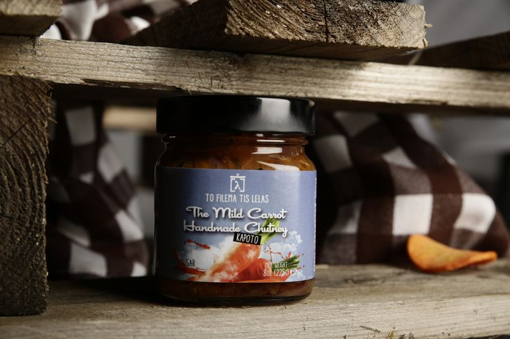 Lovely carrot chutney...by To filema tis Lelas-Greece