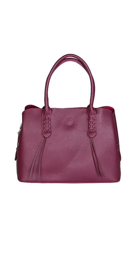 Silver Icing Paris Handbag #silvericing #handbag #bag #berrywine #fauxleather #bag #accessories #completethelook #veganleather  #fallfashion #fallfashion2017