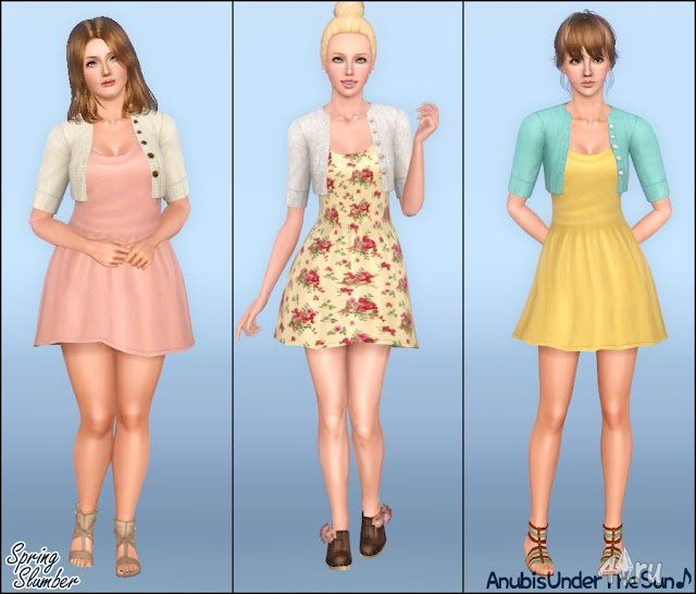 Category: Детская одежда для Симс 3