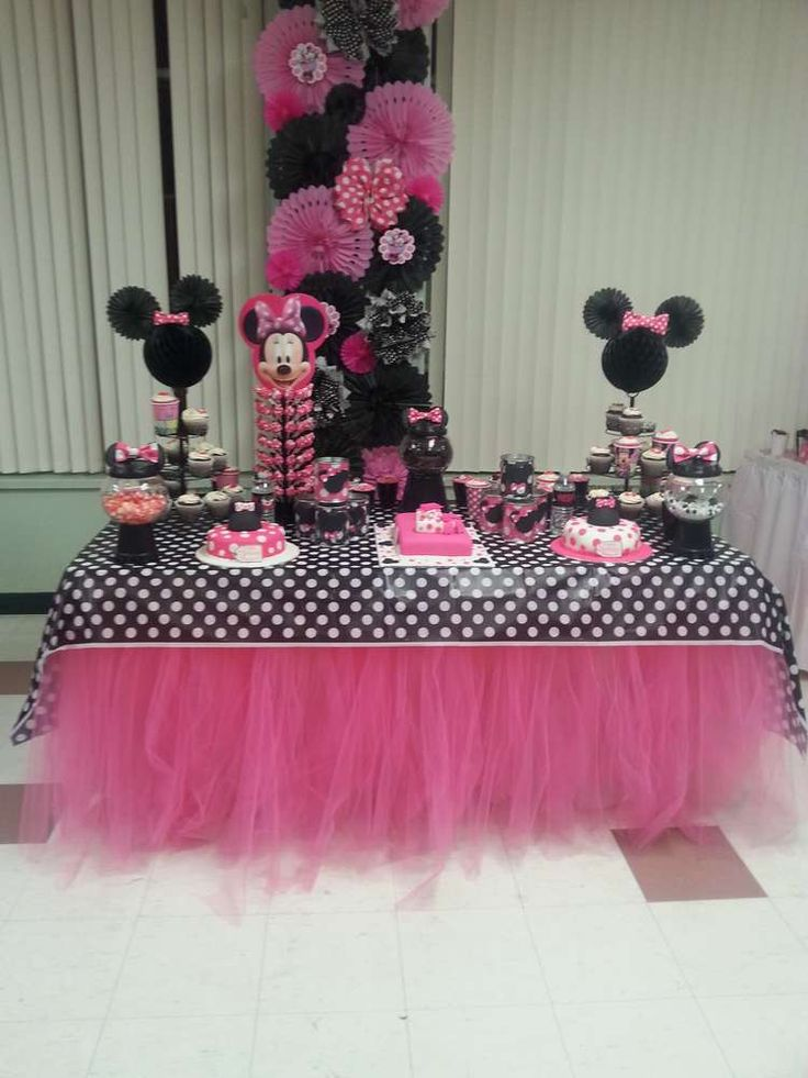Mickey Mouse / Minnie Mouse Birthday Party Ideas | Photo 7 of 21 | Catch My Party
