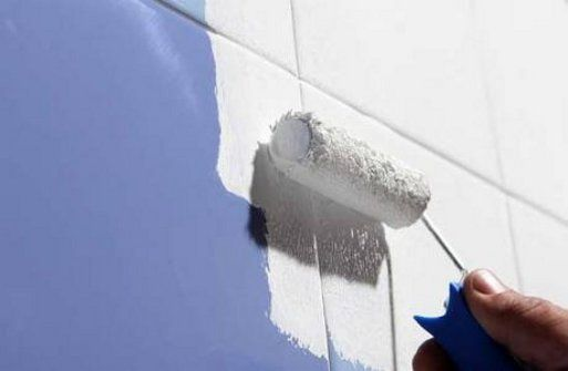 Cómo pintar azulejos: Aplicar el producto