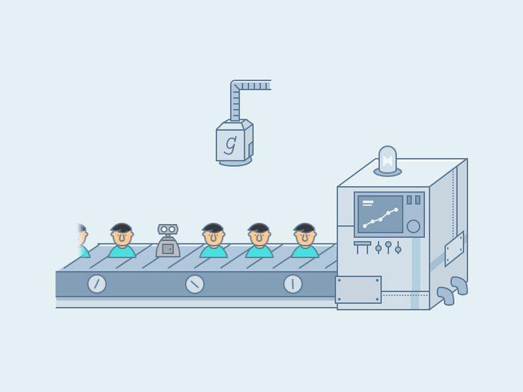 Animation-Conveyor belt