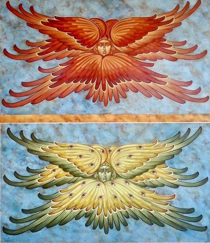 Seraphim & Cherubim by Michael Kapeluck