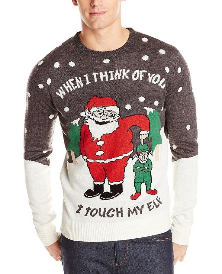 Men's Touch My Elf Ugly Christmas Sweater