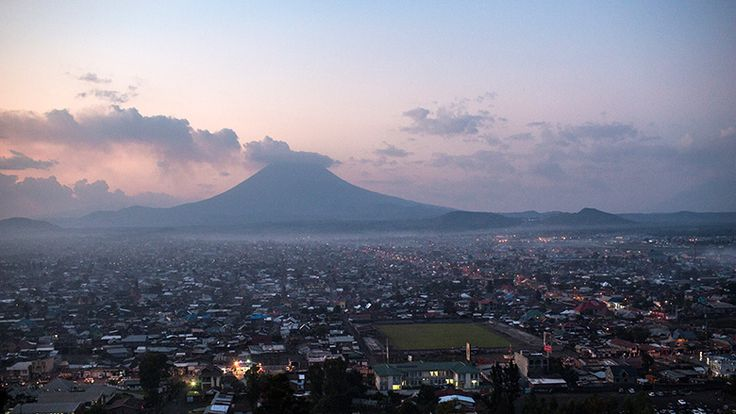 Scenery from the Democratic Republic of Congo whose GDP was $33 billion in 2014
