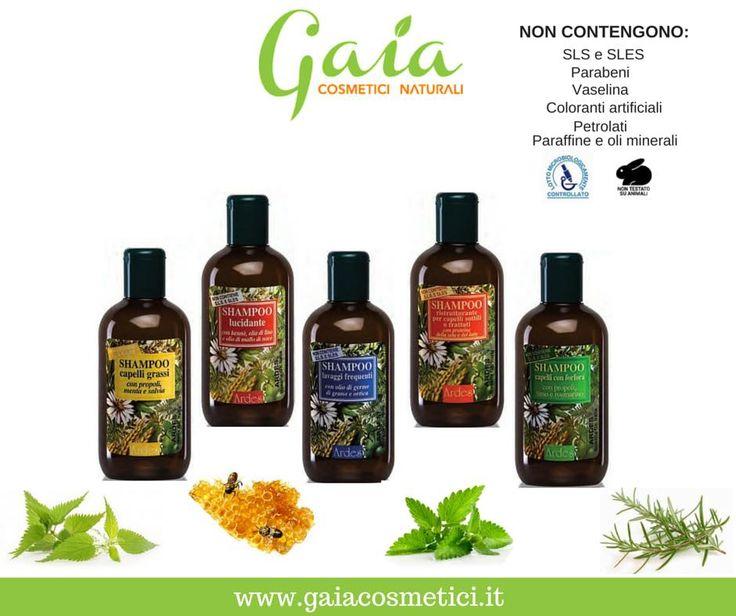 Prova gli shampoo della linea tricologica di Ardes. Scegli quello più adatto ai tuoi capelli su www.gaiacosmetici.it