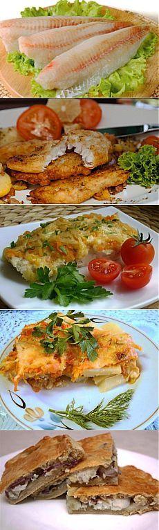 Как приготовить минтай – лучшие блюда / Простые рецепты