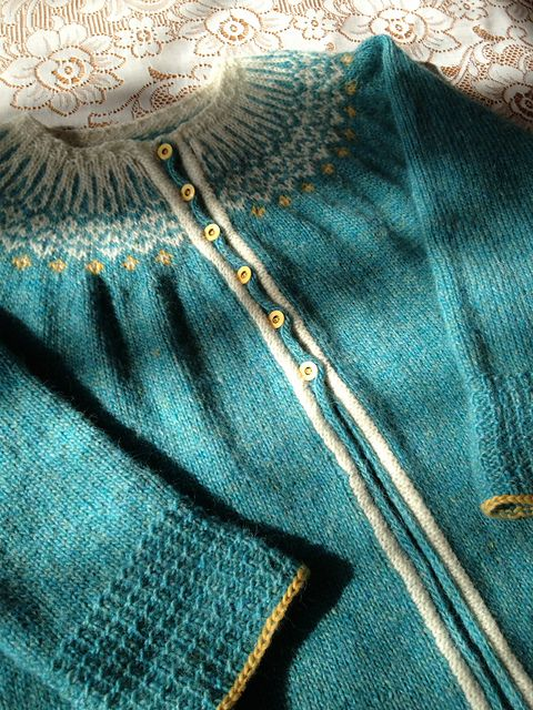 Ravelry: Sierra21s Top-Down Icelandic Sweater