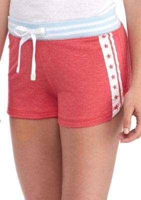 Honeydew Intimates Girls' Lounge Lover Usa Shorts - Summer Catch - Xl