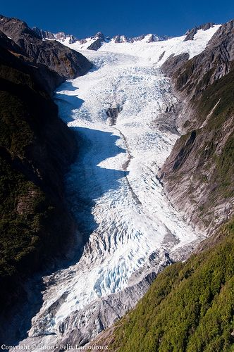 Franz Josef Glacier, Tai Poutini National Park, New Zealand