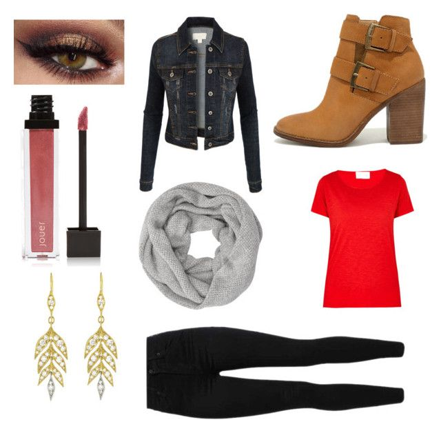 Autumn by aniarkdk on Polyvore featuring polyvore, fashion, style, American Vintage, LE3NO, Levi's, Steve Madden, Cathy Waterman, John Lewis, Jouer and clothing