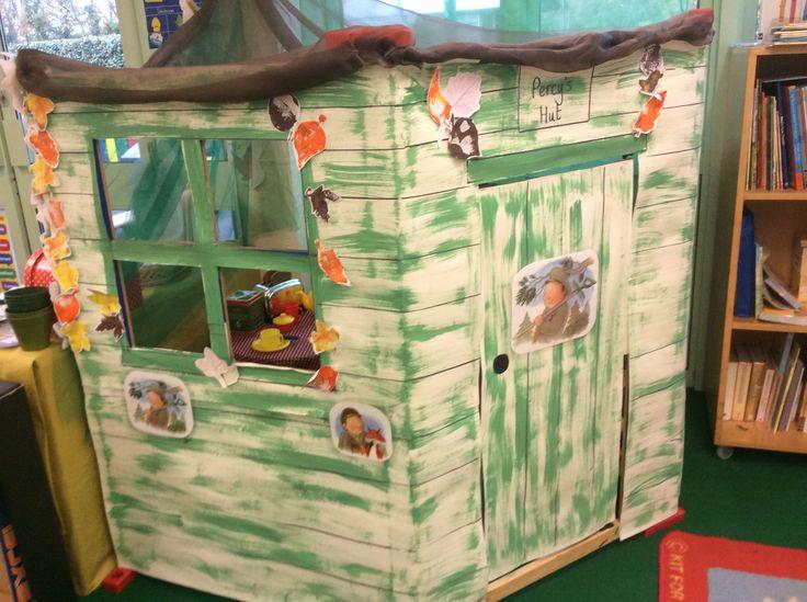 Percy's hut