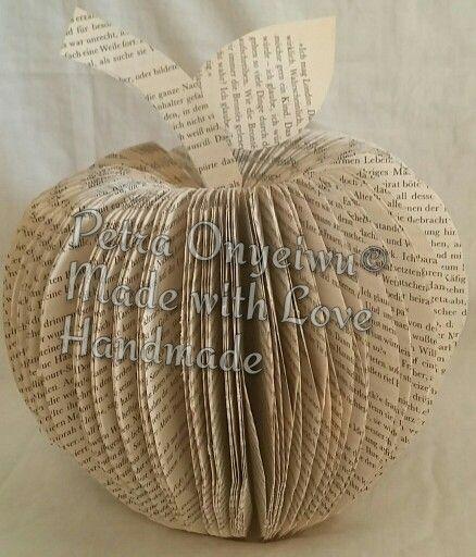 Bücher Falten, Book Folding, Bücher Kunst, Book Art