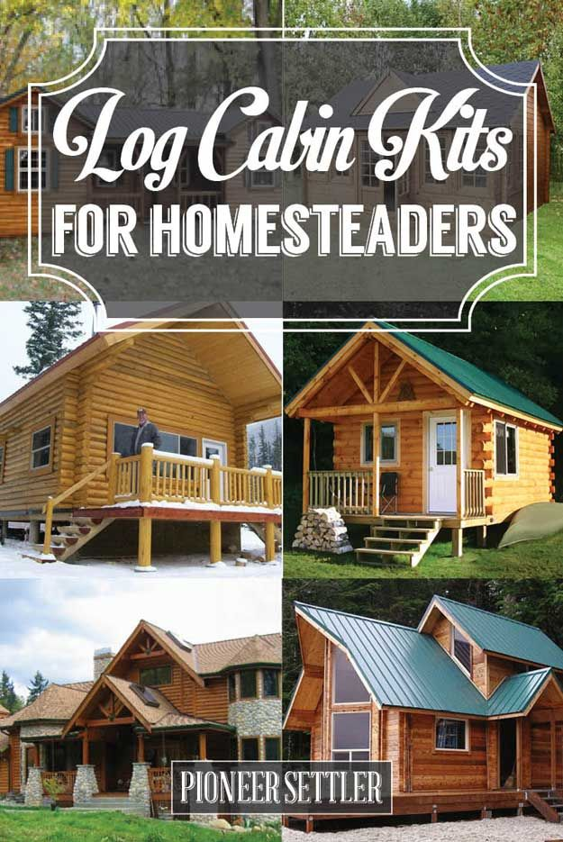 Log Cabin Kits & Ideas For Your New Homestead | Cheap DIY House Plans