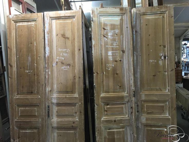 Antieke set deuren - Oude bouwmaterialen - Burbri