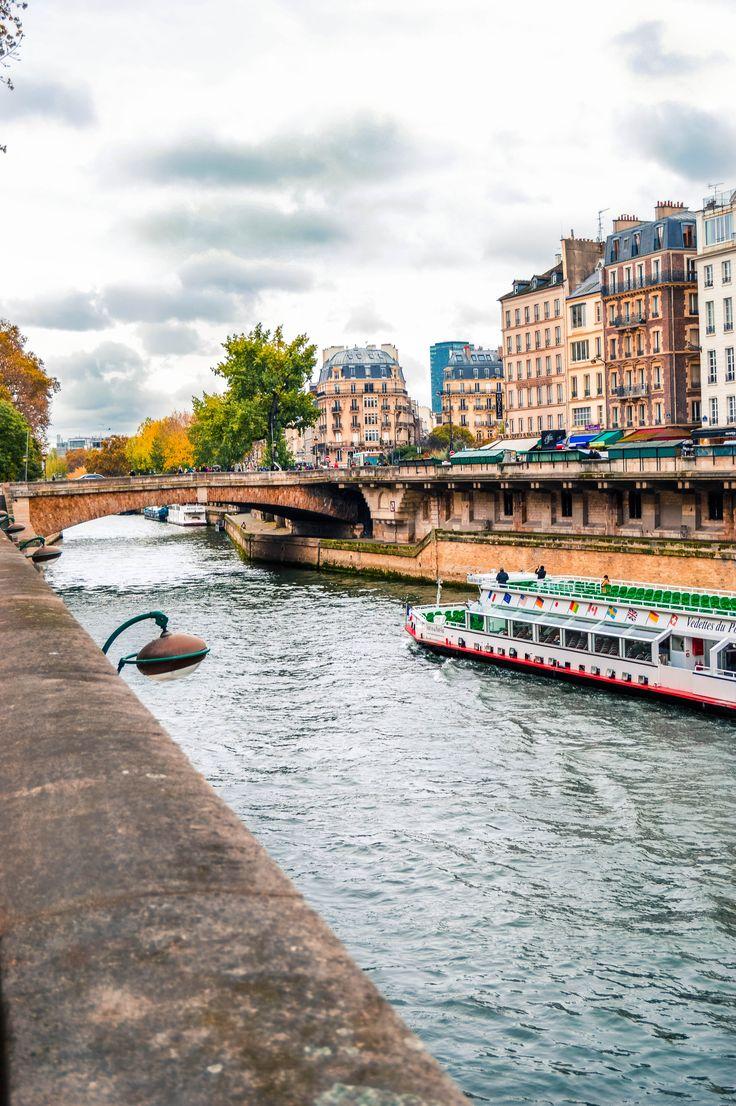 Barge on the Seine.  Ile de Cite, Paris, France. #france #travel #travelphotography #photography