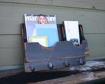 Courrier de l'organisateur-porte-lettre porte-courrier et porte-clé porte-tenture Magazine rack-Magazine stockage-Magazine porte-Magazine/lettre