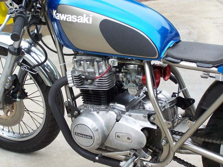 Kawasaki Kz400 Cafe Racer Parts – Idea di immagine del motociclo