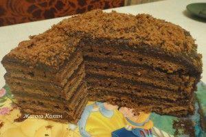Быстрый мамин торт