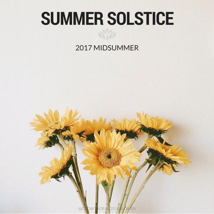 Summer Solstice 2017 🌻🌞✨