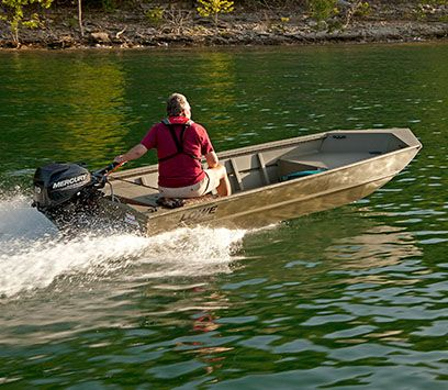 Lowe - 2016 Roughneck Series All Welded Aluminum Jon Boats