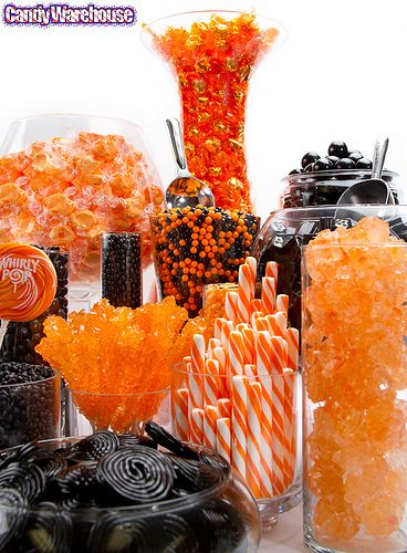 Chloe's Inspiration ~ Halloween Candy Buffet