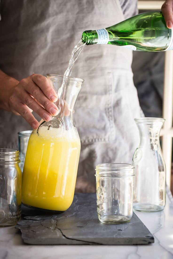 A super fresh tasting and delicious Mango and Basil Spritzer. This is the perfect drink, alcoholic or not, for the summer months.