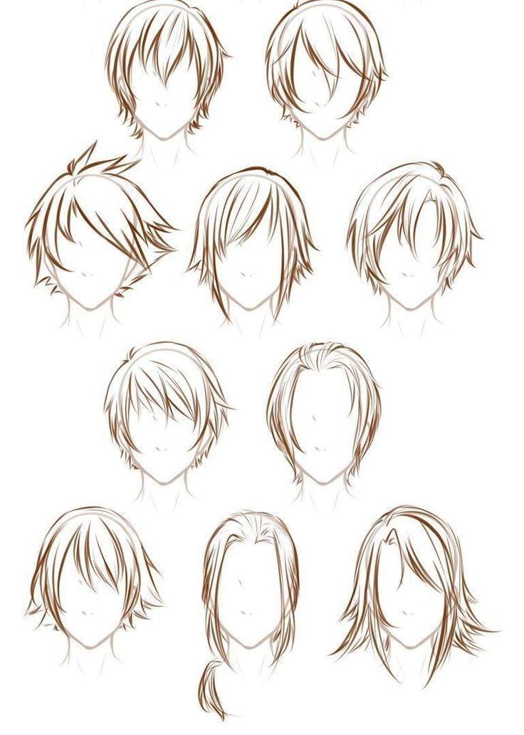 Hair Hair How To Draw Hair Anime Hair Hair Reference