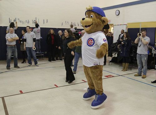 Someday, Clark the Cub, the Jar Jar Binks of the North Side, the Anne Hathaway of Wrigleyville, the Berenstain Bear of Major League Baseball, will make an ideal Chicago Cubs mascot. Someday. Possibly sooner than we think.