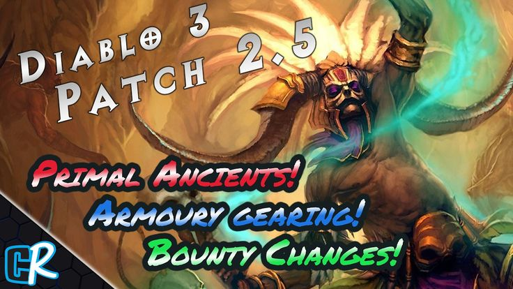 Diablo 3 PTR Patch 2.5 Preview! Primal Ancients Crafting Storage & Armoury! Season 10 TX14 needed. #Diablo #blizzard #Diablo3 #D3 #Dios #reaperofsouls #game #players