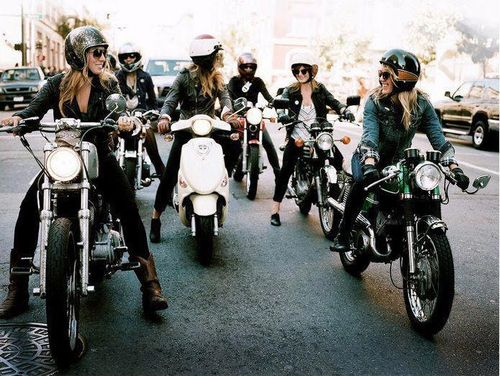 biker chic. can I join this gang?