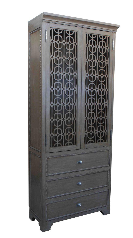 Custom Armoir For Sara Ingrassia Interior Design