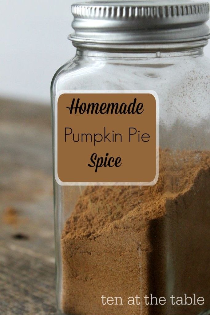 I was tired of never having pumpkin spice when I needed some. So I just made a big batch of homemade pumpkin spice mix. It smells fabulous and works great! via @mariaalison159