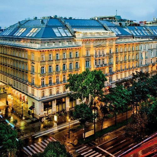 The Grand Hotel Wien is one of the most modern and luxurious hotels in Europe. It is located in the middle of Vienna, just a few steps from the Vienna State Opera and Kärntner Street.  #luxpitality #grandhotelwien #hotelroom #vienna #venue #hotel #austria #europe #meeting #event #wedding #conference #group #incentivetravel #luxury