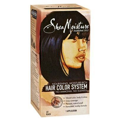 sheamoisture moisture rich ammonia free hair color system this one is actually good - Color Out Cheveux Noir