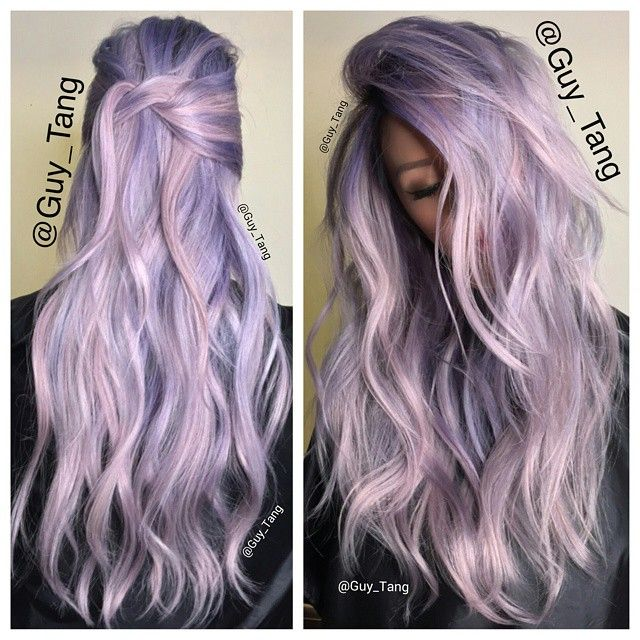 I am loving this delicate icy lavender and rose tones using the new @schwarzkopfpro Igora Professional #pearlescence in P9,5-29 and P9,5-89 new video will be release next week featuring these colors. Can't wait for you to see it in action. Do you like icy pastel tones?