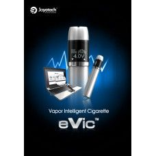 Joyetech eVic variable voltage e-cig. Best in its class. This intelligent vapor keeps track of your puffs taken, battery life, etc all in a digital display as well as upload to your PC. High End unit for below retail price www.vapeiton.com