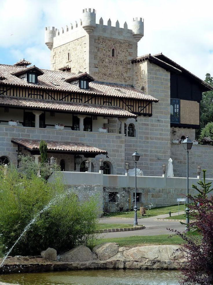 Abadia de los Templarios, La Alberca, Salamanca, Castilla y León, España