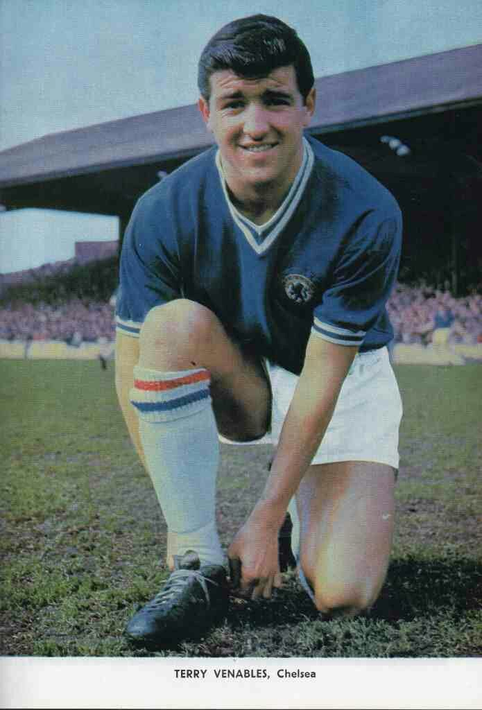 Terry Venables of Chelsea in 1963.